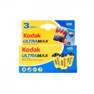 Kodak Rolos UltraMax 400 - 135/24 - Pack 3