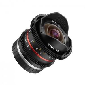 Samyang 8mm T3.1 Fish-Eye VDSLR II para Fuji X