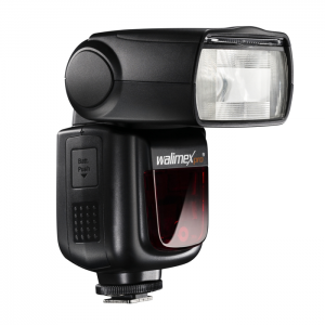 Walimex Pro Speedlite LithiumPower 58 HSS i-TTL p/ Nikon