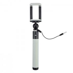 JJC Selfie Stick - Monopé Extensível com Disparador - Cinza