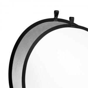 Walimex Reflector prata/branco 107cm