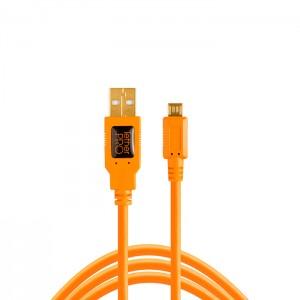 Tether Tools Cabo USB 2.0 Macho A / Micro-B 5 Pin - 4,6m