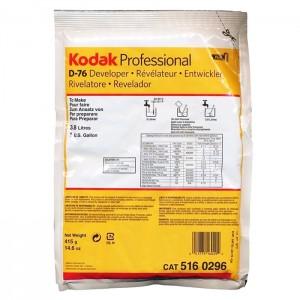 Kodak Revelador D-76 - 415g para 3.8L