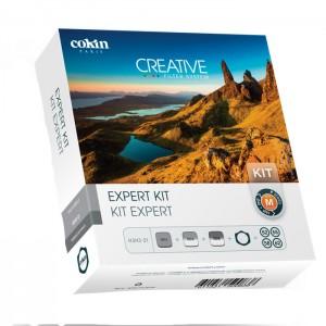 Cokin Kit Expert c/ Porta-Filtros e Anéis Adaptadores - H3H3-21 - M