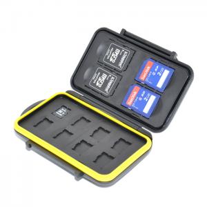JJC Estojo para Cartões - 4x SD / 8x Micro SD