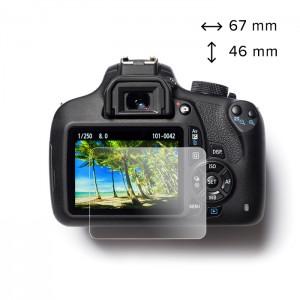 easyCover Protecção Vidro Temperado para LCD da Canon 6D / 6D Mark II