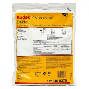 Kodak Revelador Dektol para 3.8L