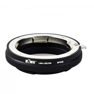 Kiwifotos Adaptador Objectivas Leica M a Corpo Sony E-Mount