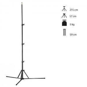Walimex Pro Tripé Estúdio GN-806 - 215cm