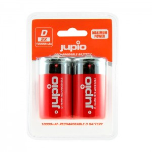 Jupio Pack 2 Baterias D 10000mAh Maximum Power