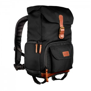Mantona Mochila Retro Luis Junior - Preto