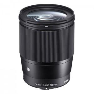 Sigma 16mm f/1.4 DC DN - Contemporary para Sony E-Mount