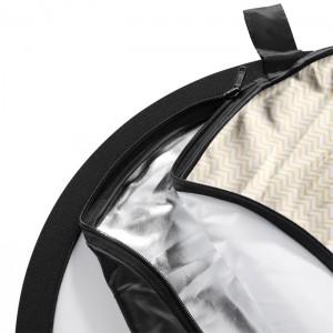 Walimex Reflector 5em1 Wavy oval 102x168cm