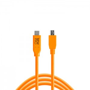 Tether Tools Cabo USB-C / Mini-B 8 Pin - 4,6m