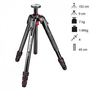 Manfrotto Tripé 190go! MS - MT190GOA4