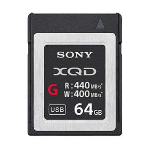 Sony Cartão XQD G Series - 64GB