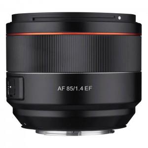 Samyang AF 85mm f/1.4 EF para Canon