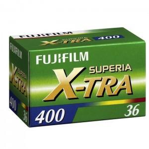 Fujifilm Rolo Superia X-TRA 400 - 135/36