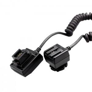 Phottix Cabo Flash TTL em espiral para Sony