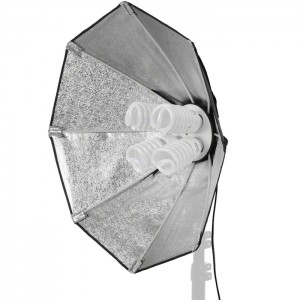 Walimex Luz Daylight 1000 com Softbox Octogonal 60cm