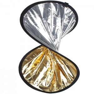 Walimex Reflector Prata/Dourado 30cm