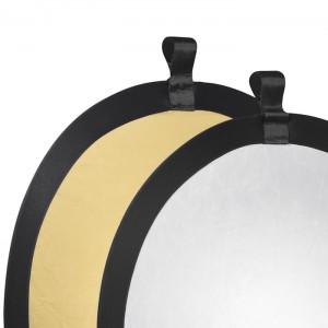 Walimex Reflector Prata/Dourado 56cm