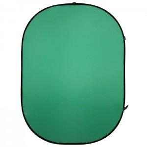 Walimex Fundo Dobrável Verde - 150x200cm