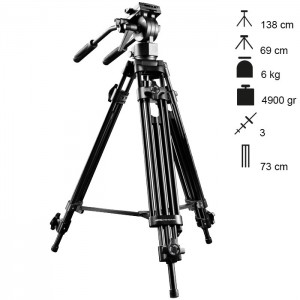 Walimex Pro Tripé Vídeo EI-9901