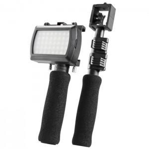 Walimex Conjunto Monopés com LED para iPhone 4/4S