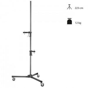 Walimex Pro Tripé Coluna com Rodas e Fixações - 223cm