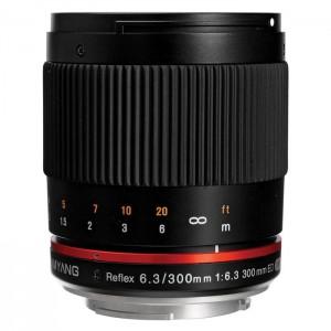 Samyang 300mm f/6.3 para Canon