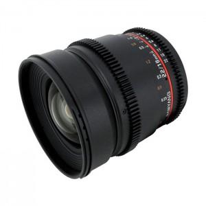 Samyang 16mm T2.2 VDSLR para Nikon