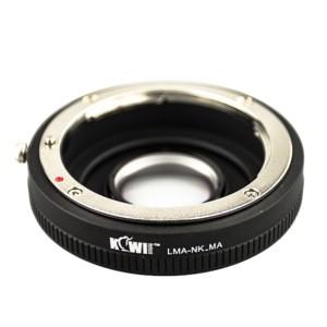 Kiwifotos Adaptador Objectivas Nikon D a Corpo Sony A-Mount