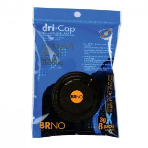 BRNO Dri+Cap Recargas Silica Gel