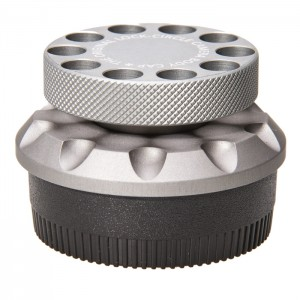 LockCircle Tampa Alumínio para Corpo Canon EF - Silver Edition