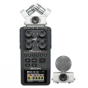Zoom Handyrecorder H6 - Gravador Áudio