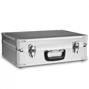Mantona Mala Rígida Alumínio Basic M - Silver