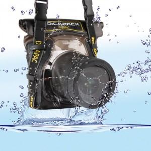 DiCAPac Bolsa p/ fotografia sub-aquática WP-S5 para SLR