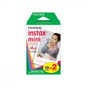 Fujifilm Instax Mini - Recargas 2 x 10 Películas