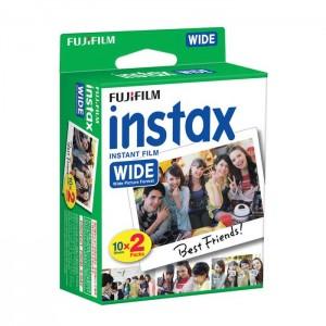 Fujifilm Instax Wide - Recargas 2 x 10 Películas