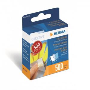 Herma 1070 - Pastilhas Autocolantes Dupla Face - 500 un.