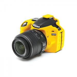 easyCover Capa Protectora para Nikon D3200 - Amarela