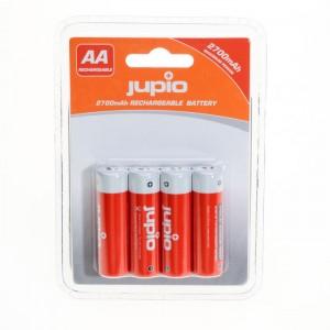 Jupio Pack 4 Pilhas Recarregáveis AA 2700mAh Maximum Power