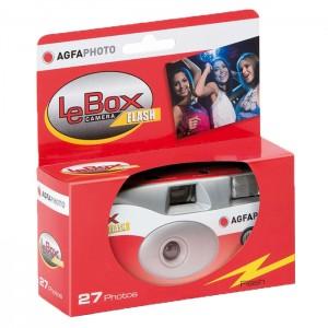 Agfaphoto LeBox Flash - Câmara Descartável com Flash