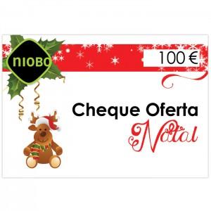 Cheque Oferta 100 Euros Natal