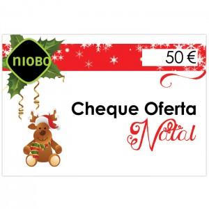 Cheque Oferta 50 Euros Natal