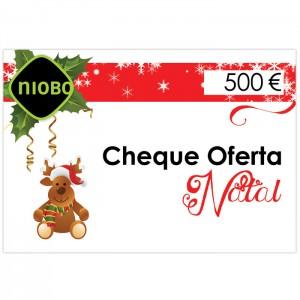 Cheque Oferta 500 Euros Natal