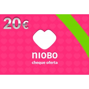 Cheque Oferta 20 Euros Love