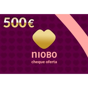 Cheque Oferta 500 Euros Love