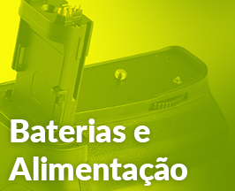 Baterias e Alimentação